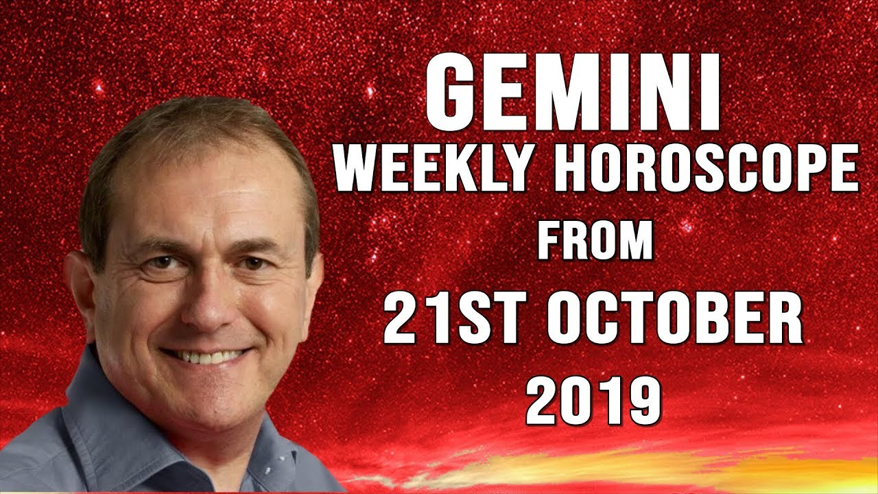 Weekly Horoscopes from 21st October 2019