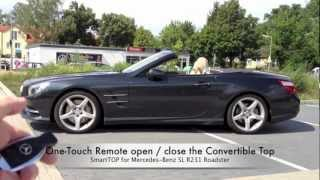 mods4cars SmartTOP for Mercedes-Benz SL R231 - One-Touch Top open / close / Remote / while driving