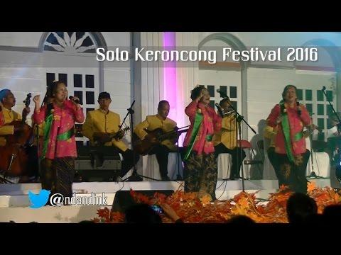 Keroncong Welcome To My Paradise - SAHITA [Solo Keroncong Festival 2016]