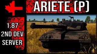 War Thunder 2 Dev Server - Update 1.87 - C1 Ariete (Pre-serie)