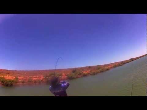 Fishing in a Port Hedland Creek