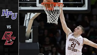 High Point vs. Boston College Men's Basketball Highlights (2019-20)