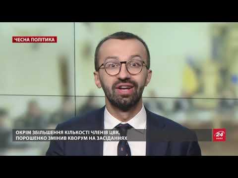 Пристрасті навколо ЦВК, або Як Порошенко вдається до ...