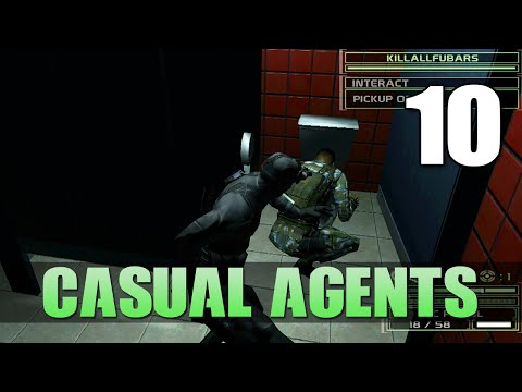 [10] Casual Agents (Let's Play Splinter Cell: Chaos Theory COOP with GaLm and FUBAR)