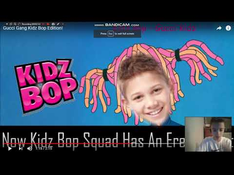 Reacting to Gucci Gang Kidz Bop Edition