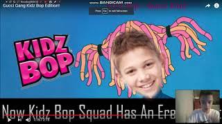 Reacting to Gucci Gang Kidz Bop Edition