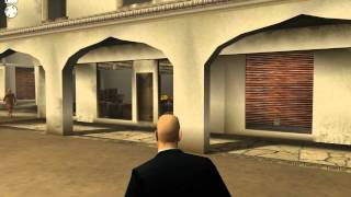 """Hitman 2: Silent Assassin"", HD walkthrough (Professional), Mission 16 - Temple City Ambush"