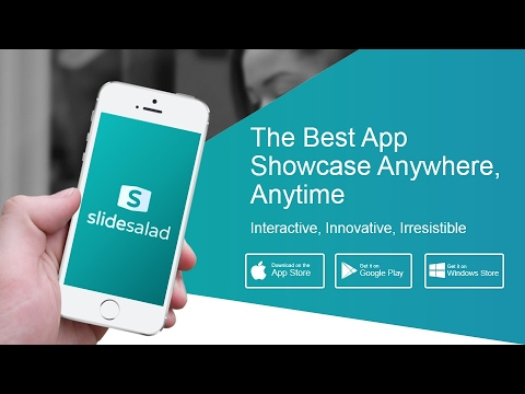 mobile application powerpoint presentation template - youtube, Powerpoint templates