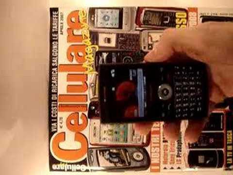 Cellularemagazine.it Samsung i600 Mail