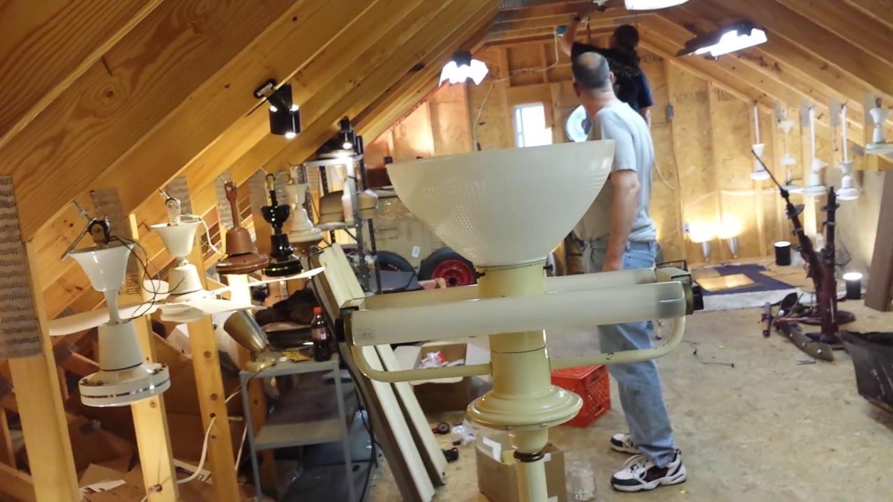 Chrislights tests an antique manual preheat fluorescent ...