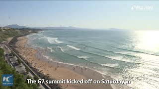 France's Biarritz turned into security fortress as G7 summit kicks off