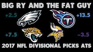 NFL Divisional Round Picks Against The Spread 2017-2018 | BRFG