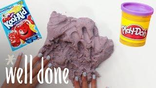 How to Make Grape Kool-Aid Play Dough | Recipe | Well Done