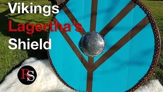 DIY - How To Make A Viking Round Shield / Lagertha's Shield from Vikings