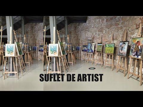 "Expoziția ""Suflet de artist"", a Școlii Populare de Arte ""Tudor Jarda"""