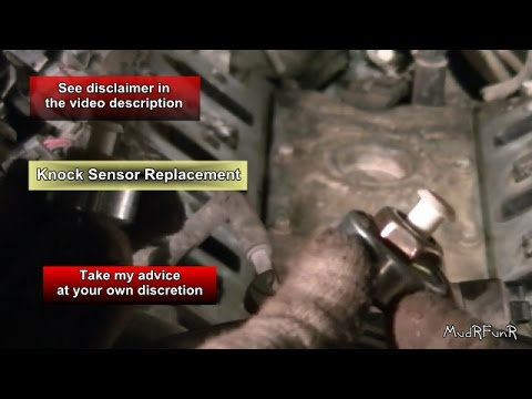 Chevy Avalanche 2016 >> Knock Sensor Replacement - 5.3L Chevy Avalanche - YouTube