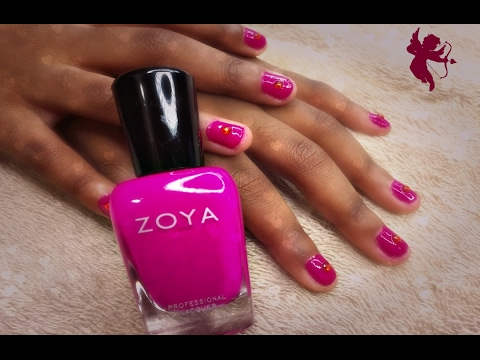 Zoya Nail Polish Charisma Tutorial For Kids