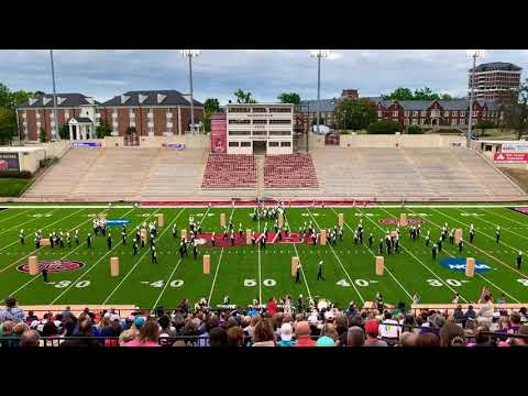 Fort Payne High School Marching Band at JSU Contest of Champions 10/12/2019