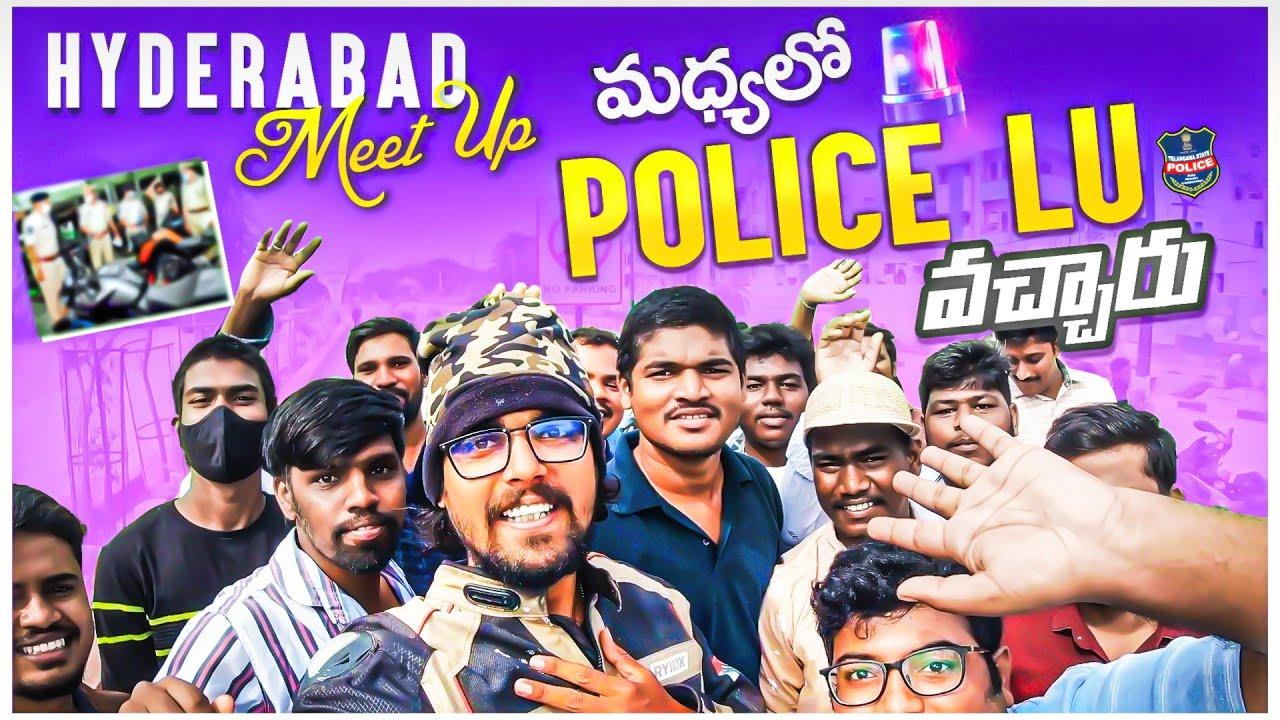 Hyderabad Meetup | Police Lu Vacharu Royyy | Nellore To Ladakh On Splendor | HN motovlogs