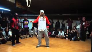 Ultimate Dancer 2 Popping JoJo Delo vs K Rock Dymension
