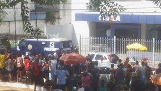 Assalto a carro forte da PRESERVE na Bahia deixa vigilante ferido