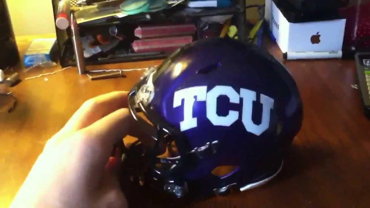 0f294f88 TCU Riddell Speed Mini Helmet Review