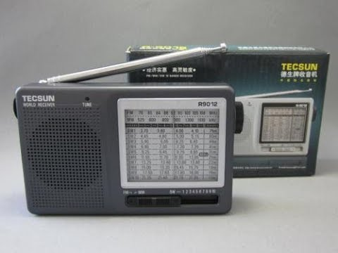 Top Ten Favorite Shortwave Portable Receivers Tecsun R9012 Analog AM FM SW Radio