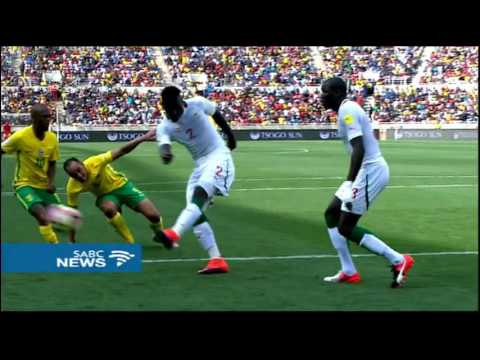 Bafana beat Senegal 2-1 in the 2018 World Cup qualifiers