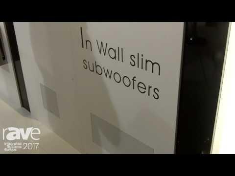 ISE 2017: Garvan Acoustic Presents In Wall Slim Subwoofers