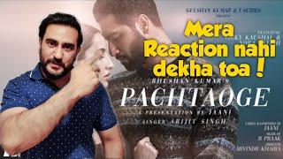Arijit Singh: Pachtaoge Reaction | Vicky Kaushal, Nora Fatehi