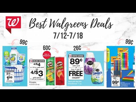 ✨ BEST WALGREENS COUPON DEALS (7/12-7/18) 99¢ All Detergent, 60¢ Pringles, & More! 🔥