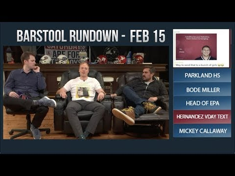 Barstool Rundown - February 15, 2018