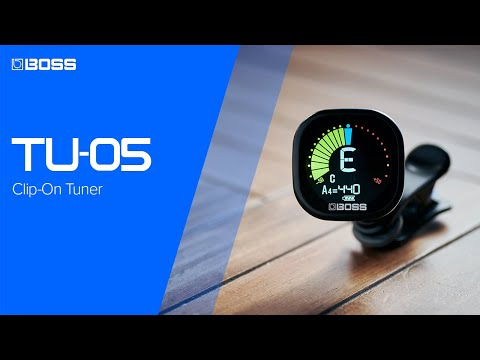 BOSS TU-05 Clip-On Tuner - Trusted BOSS quality