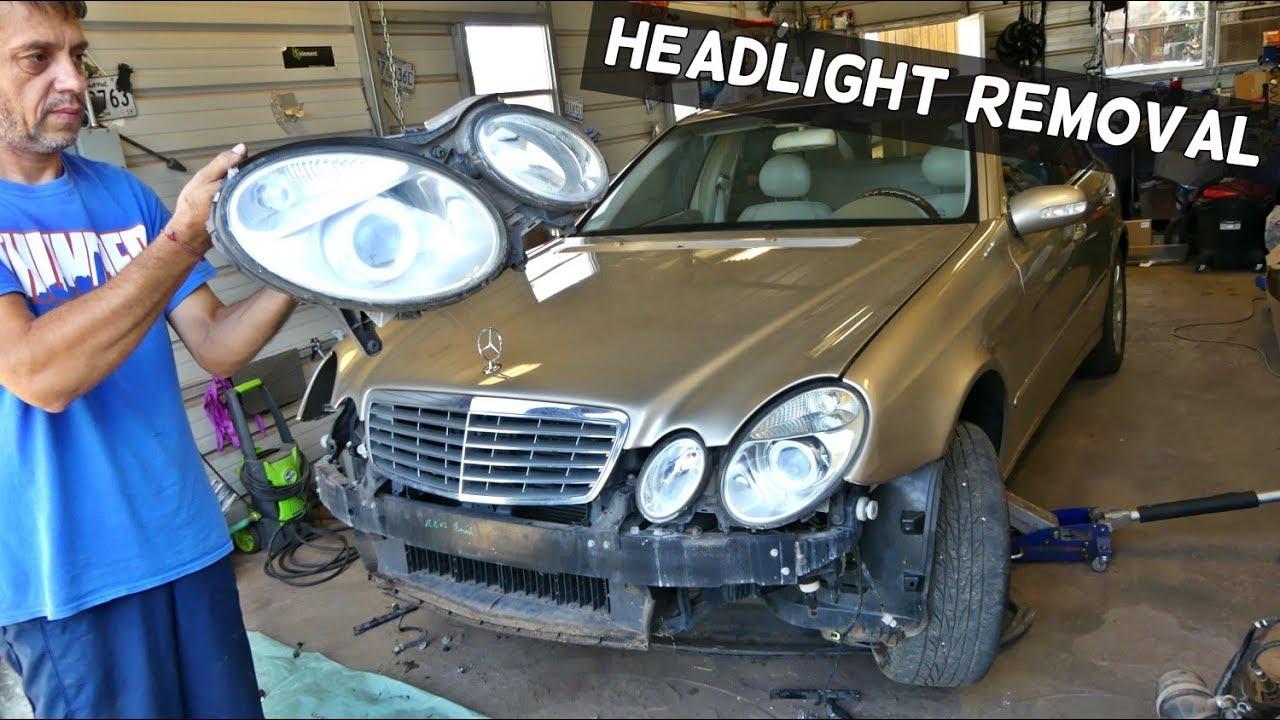 MERCEDES E CLASS W212 2009-2013 Headlight Mount Panel Left Hand