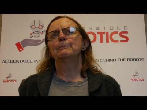 """""""What does responsible robotics mean to you?"""" with Amanda Sharkey"""