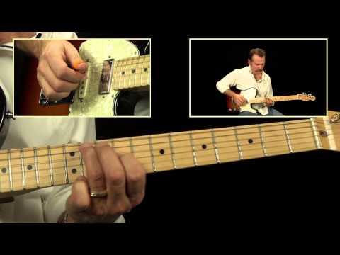 Brad Paisley Guitar Lick - Country Guitar Lesson
