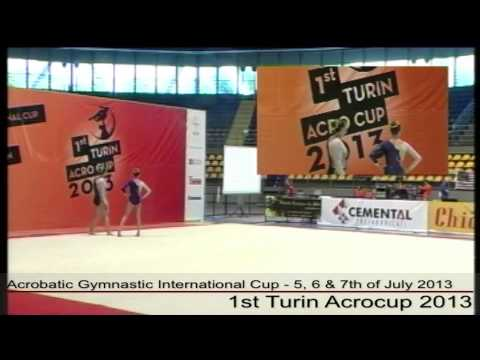 1st Turin Acrocup - Acrobatic Gymnastic International Cup - Day 1 - part 2