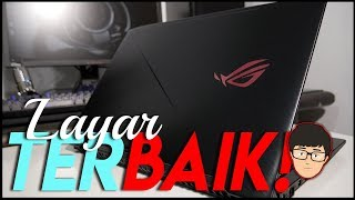 Laptop Gaming dengan Layar TERBAIK ? ROG GL503 Review Indonesia