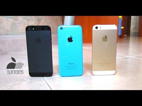 iPhone 5S vs iPhone 5 vs iPhone 5C il confronto di TuttoTech