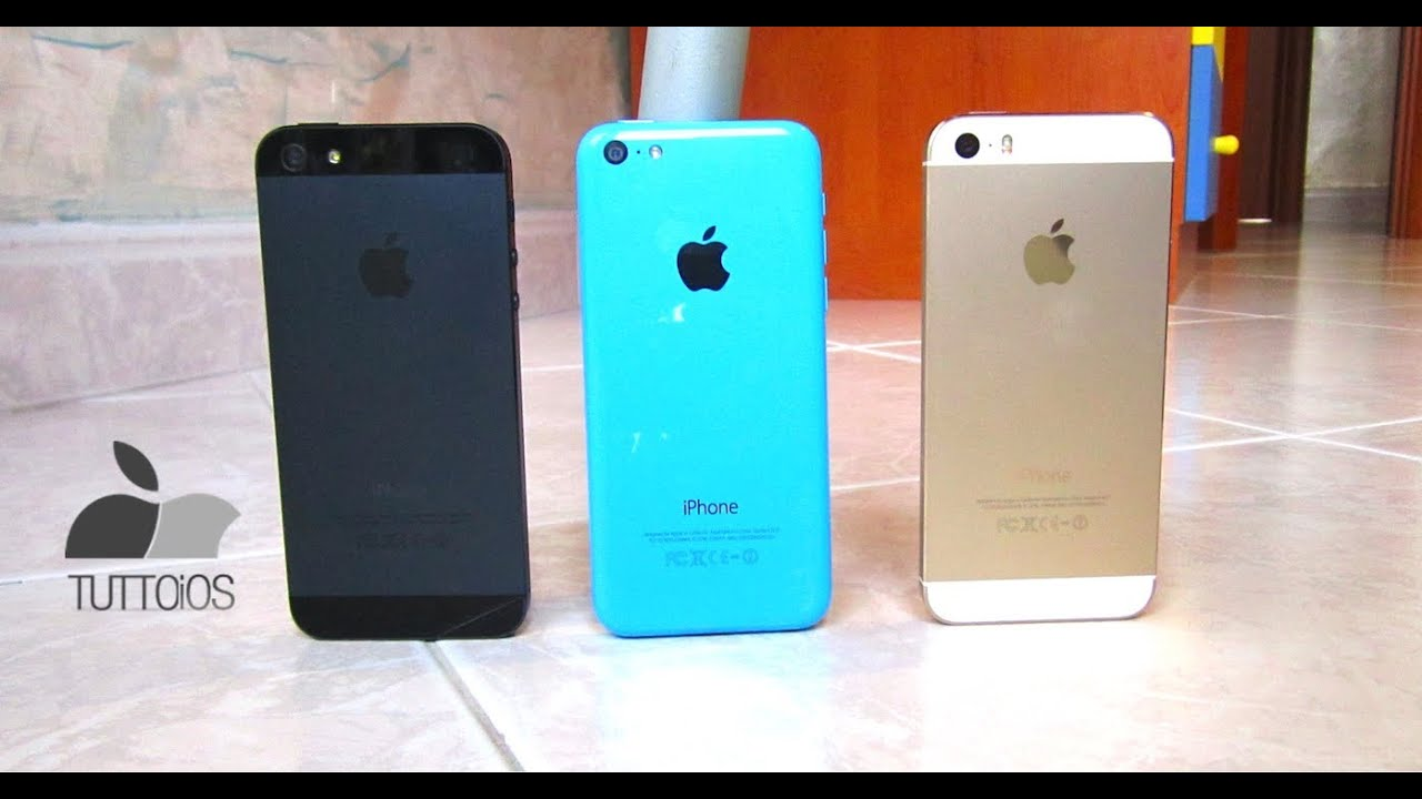 iphone 5s and 5c iphone 5s vs iphone 5 vs iphone 5c il confronto di 14736