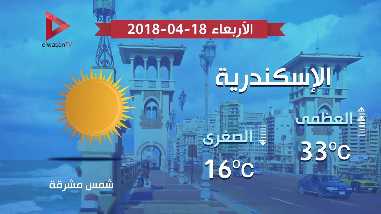 الوطن المصرية:طقس اليوم : مرتفع الحرارة نهارا ومعتدل ليلا