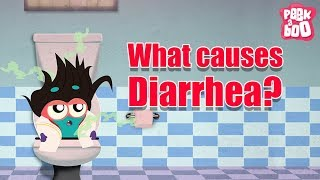 What Causes Diarrhea? - The Dr. Binocs Show | Best Learning Videos For Kids | Peekaboo Kidz