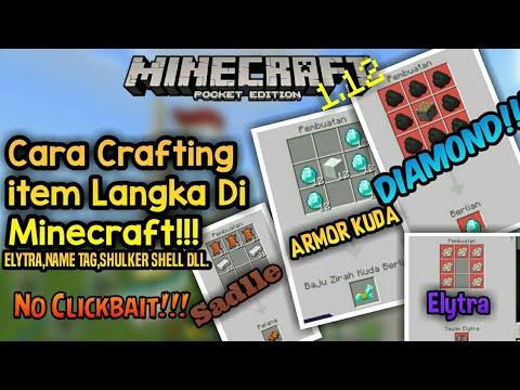 cara-membuat-armor-kuda,-sadle,-nametag,-diamond,-elytra-dll---minecraft-indonesia