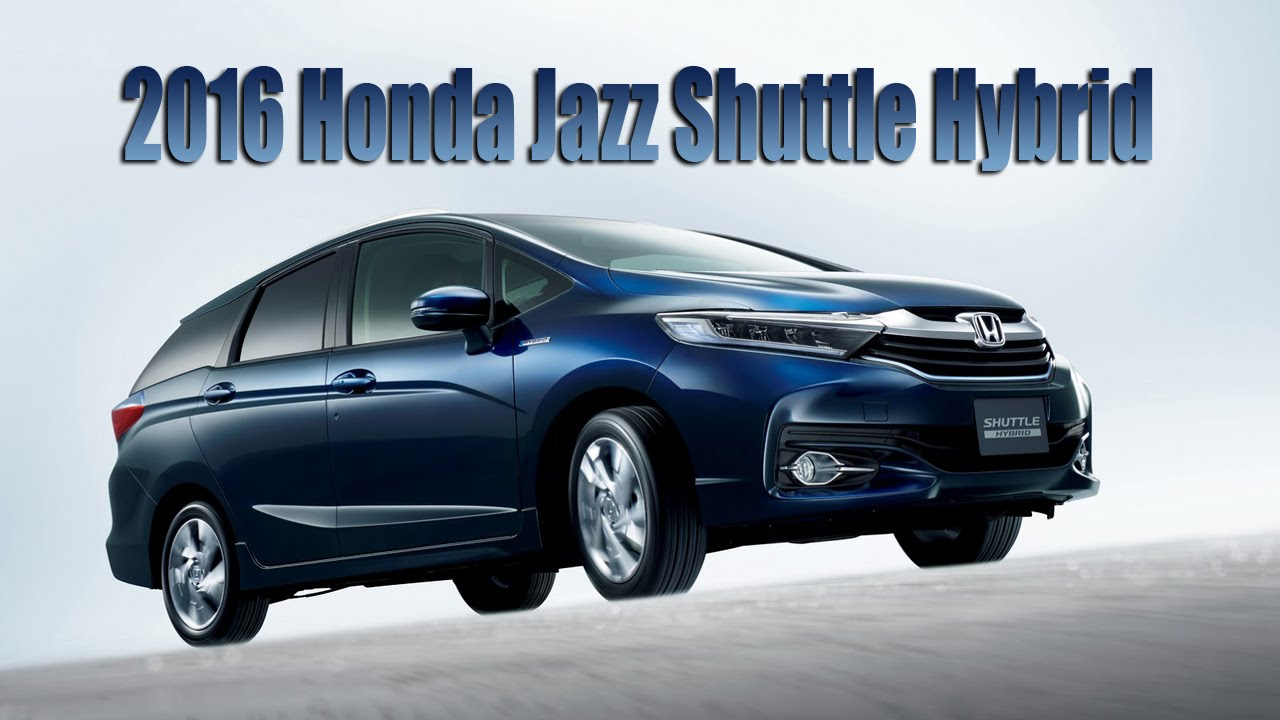2016 Honda Jazz Shuttle Hybrid