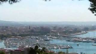 Mallorca Travel: Excellent View over Palma de Mallorca from Castell de Bellver