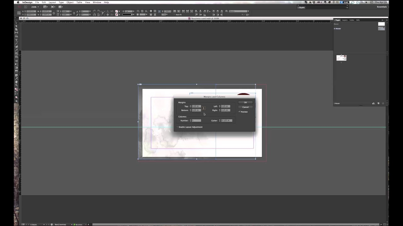 how to layout variable data in indesign e g multiple business