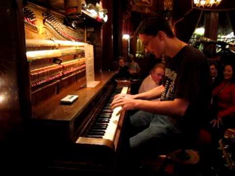 Adam Swanson plays