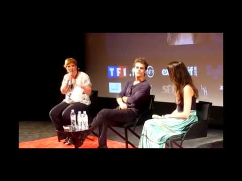 Paul Wesley & Torrey Devitto funny moments .  Part 1