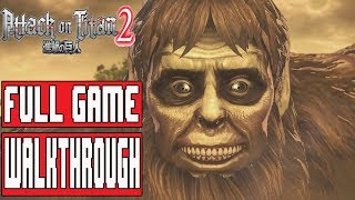ATTACK ON TITAN 2 Full Game Walkthrough - (PS4 Pro) No Commentary
