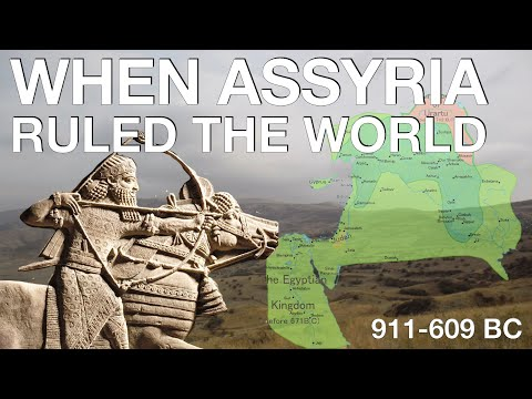 Entire History of the Neo-Assyrian Empire (911-609 BC) // Ancient History Documentary